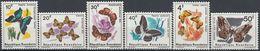 105. RWANDA 1965 SET/6 STAMP INSECT, BUTTERFLY . MNH - Rwanda
