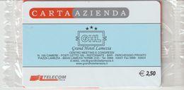 16-Carta Azienda-Grand Hotel Lamezia-Lamezia Terme-Catanzaro-Nuova In Confezione Originale - Télécartes