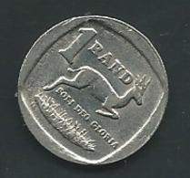 1 Rand , AFRIQUE DU SUD , 1994   Pia 23001 - Sudáfrica