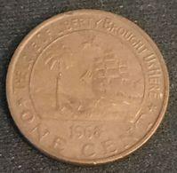 LIBERIA - 1 CENT 1968 - Eléphant - KM 13 - Liberia