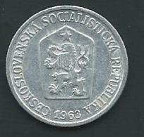 Tchecoslovaquie  CZECHOSLOVAKIA 10 Haleru 1963 Pia 23008 - Checoslovaquia