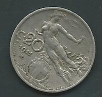 20 CENTESIMI 1911 ITALIE Pia 23012 - 1900-1946 : Victor Emmanuel III & Umberto II