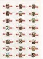 Sigarenbanden Mercator Serie Het Bier 24 St - Bagues De Cigares