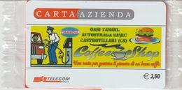 17-Carta Azienda-Tamoil-Salerno-Reggio C.-Castrovillari-Cosenza-Nuova In Confezione Originale - Télécartes