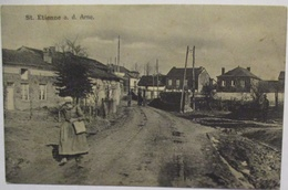 Frankreich Saint-Étienne-à-Arnes, Feldpost 6.ID 1916 Nach Dreetz Neustadt (4463) - Guerre 1914-18