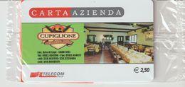 18-Carta Azienda-Cupiglione-Aria Di Lupi--Lago-Cosenza-Nuova In Confezione Originale - Télécartes