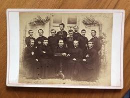 Ancienne Photo Cartonnée Religieux Prêtres - Oud (voor 1900)