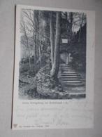 CPA HAUT KOENIGSBOURG - HOH-KÖNIGSBURG Bei SCHLETTSTADT Ruines Avec Cachet Allemand - Frankreich