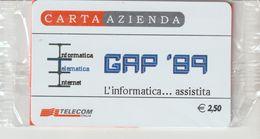 20-Carta Azienda-GAP ' 89-Nuova In Confezione Originale - Télécartes