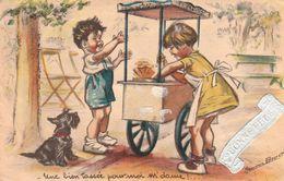 Carte Illustrateur  Bouret Germaine - Bouret, Germaine