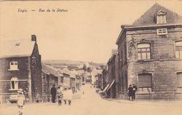 Belgique - Engis - Rue De La Station - Engis