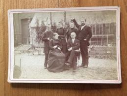Ancienne Photo Cartonnée - Oud (voor 1900)