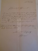 D172616 Old Document - Manuscript 1870 - Ohne Zuordnung