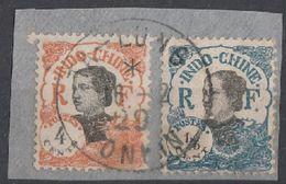 INDOCHINE- TONKIN - Oblitération TA LUNG Sur Fragment - Indochine (1889-1945)