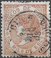 1867  Isabel II Ed 96 - Usati