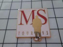 415c Pin's Pins / Beau Et Rare / THEME : MUSIQUE / MS TOUR 93 MICHEL SARDOU Par STARPIN'S - Música