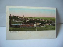 OSTERFELD I. TH . GESAMMTANSICHT ALLEMAGNE CPA VERLAG K JABOBI OSTERFELD 12103 GESCH - Allemagne