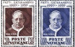 Ref. 115853 * MNH * - VATICAN. 1959. 30th ANNIVERSARY OF THE SIGNATURE OF THE LATERAN PACT . 30 ANIVERSARIO DE LA FIRMA - Vatican