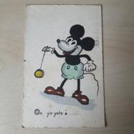 Mickey Mouse - On Yo-yote à ... - Années '30 - Peint Main Nr 225 - 1933 - Disneyworld