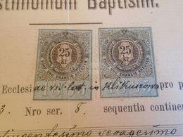 D172619 Old Document -Poland KLIKUSZOWA  Nowy Targ - Regina BUTA - 1886 - Ohne Zuordnung