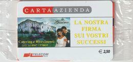 26-Carta Azienda -Giaimo Catering-Nuova In Confezione Originale - Télécartes