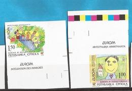 2006 366A-67A  RRR!!!!! IMPERFORATE  EUROPA CEPT INTEGRATION    BOSNEIN REPUBLIKA SRPSKA  SELTEN MNH - Europa-CEPT