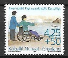 GROENLAND    -   1996  .  Y&T N° 275 **.    Handicapé En Fauteuil Roulant. - Neufs