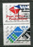 Südafrika South Africa Mi# 823-4 Gestempelt(FDC/SST)/used/CTO -  Postal Service - Afrique Du Sud (1961-...)