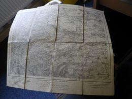 """Karte DerDeutschen Reichs """"Kirchheimbolanden."""" 1884 - Wereldkaarten"""