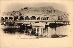 CPA AK Pont Tournant De La Goulette TUNISIE (1009893) - Tunisie