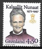 GROENLAND    -   1997  .  Y&T N° 282 **.     Reine Margrethe II - Neufs
