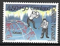 GROENLAND    -   1997  .  Y&T N° 283 **.     Musiciens Et Globe. - Neufs