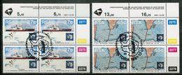 Südafrika South Africa Mi# 829-30  Control-blocks Gestempelt(FDC/SST)/used/CTO -  Antarctic - Afrique Du Sud (1961-...)