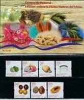 Panama 2019**, 2 Sätze Früchte Im MH, Sukkulente / Panama 2019, MNH, 2 Sets Fruits In A Booklet, Succulents - Cactusses