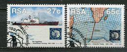 Südafrika South Africa Mi# 829-30 Gestempelt(FDC/SST)/used/CTO -  Antarctic - Afrique Du Sud (1961-...)