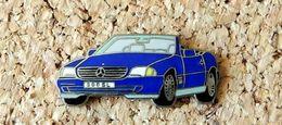 Pin's MERCEDES 300 SL Cabriolet émaillé Fabricant Inconnu - Mercedes