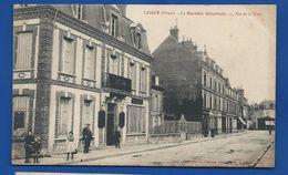 LAIGLE    Rue De La Gare Société Générale       Animées     Publicité Au Dos   Location De Coffres-Fort - L'Aigle
