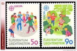 Liechtenstein 0901/02**  Europa 1989  MNH - Faciale: 1.40 FS - Liechtenstein