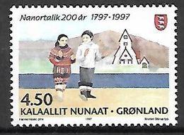 GROENLAND    -   1997  .  Y&T N° 289 **.    Danseurs - Neufs