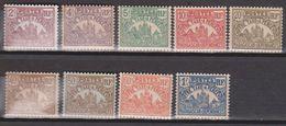Madagascar Taxe (yt) N°8  à 16 Neufs ** - Madagascar (1889-1960)