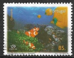 Portgal – 1998 Expo'98 85. Used Stamp - 1910-... República