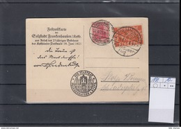 Reich Michel Kat.Nr. 111 MiF SSt Kyffhäuser Flug - Deutschland