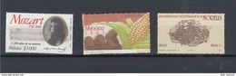 Mexico (AK) Michel Cat.No.  Mnh/** 2260/2262 - México