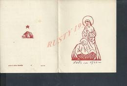 RELIGION TYPE DEPLIANT NOËL 1944 ECRITE DE ISSY LES MOULINEAUX : - Xmas