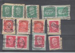 REICH  Kleine Sammlung 356:414  Mit Schöne Orts- Und Datumstempel - Deutschland