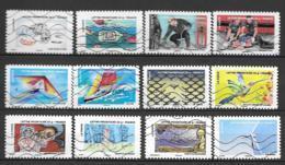 2013 - 104 - 889 à 900 - Fête Du Timbre L'air - Oblitéré - Sellos Autoadhesivos