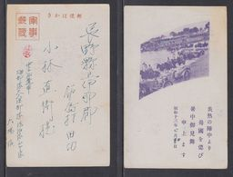 JAPAN WWII Military Japanese Soldier Unit Picture Postcard CENTRAL CHINA WW2 MANCHURIA CHINE MANDCHOUKOUO JAPON GIAPPONE - 1943-45 Shanghai & Nanjing