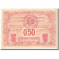 France, Caen Et Honfleur, 50 Centimes, 1915-1920, SUP, Pirot:34-12 - Chamber Of Commerce