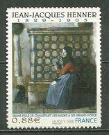 FRANCE MNH ** Adhésif Autocollant  223 Jean Jacques Henner Jeune Fille Se Chauffant Les Mains - Sellos Autoadhesivos