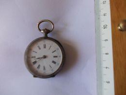 Montre Gousset Petite Taille Poincon Cylindre Huit Rubis - Watches: Bracket